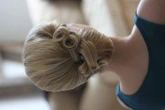 Brautfrisur, Wedding, Hair, Weddinghair, Birdal, Hairstyle, vintage