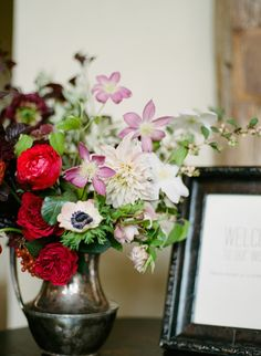 Fall Wedding with Vintage Touches | See the wedding on SMP: http://www.StyleMePretty.com/texas-weddings/austin/2014/02/05/autumn-wedding-at-barr-mansion/ Christine Sargologos Photography