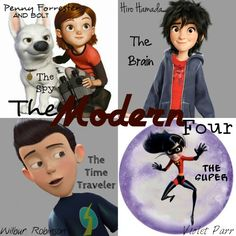 The Modern Four. it seems I'm the ONLY one who likes the Modern four! Why is that?! ok the name would be: Meet the incredible big Bolt. Hm. No.
