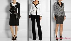 Elegant outfits for Dramatic Classic (Kibbe). Typ urody Dramatic Classic – Miss Elegancji