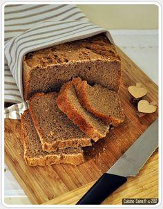 Recette bio : pain de seigle au levain à la MAP Fresh Baked Bread Recipe, Bread Recipes, Vegan Recipes, Freshly Baked, Bread Baking, Love Food, Banana Bread, Bakery, Gluten