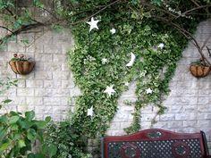壁面緑化 フェイクグリーン 造花 へデラ アイビー