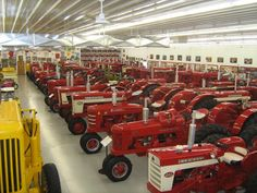 Case International Harvester Museum Iowa.The April/May Heritage Iron magazine has a story on this museum