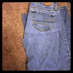 American eagle jeans 4 long stretch American Eagle Outfitters Pants Boot Cut & Flare