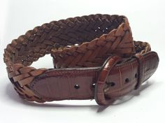 Brighton #women Brown Braided leather belt size 30 visit our ebay store at  http://stores.ebay.com/esquirestore