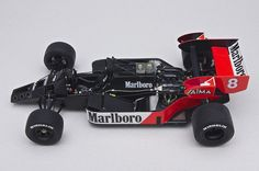 F-1 McLaren MP4 / 2  V6 Porsche Turbo Twin 1984 Niki Lauda