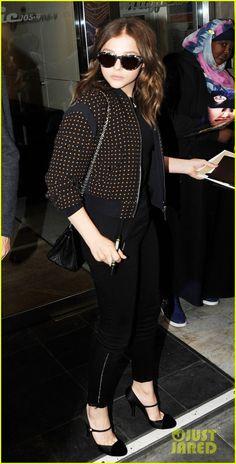 CHLOE MORETZ  BBC RADIO WITH MINTZ  PLASSE   Chloe Moretz: BBC Radio with Christopher Mintz-Plasse!   Chloe Moretz ...