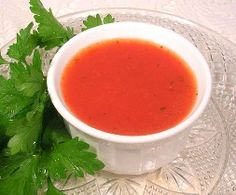 hCG Diet Recipes - hCG Diet Tomato Soup Recipe