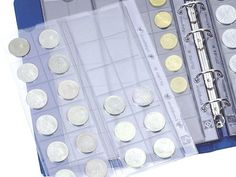 Archival Coin refill sheets