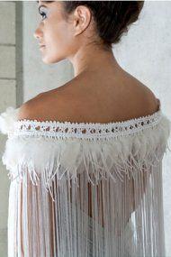 te ao maori design - blissfully stunning korowai - perfect for you wedding I say!!