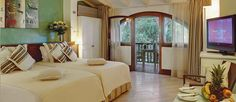 Retreat to a comfortable room (shown: Le Palme)