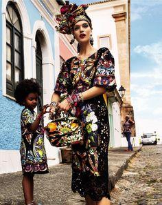 """Carmen Miranda Reloaded"" Vogue Brazil February 2013 - Photography by Giampaolo Sgura"