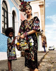 """Carmen Miranda Reloaded"" Vogue Brazil February 2013 - Photography by Giampaolo Sgura"