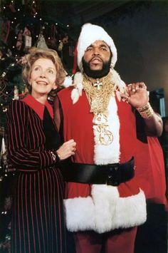 Mr. T as Santa Claus