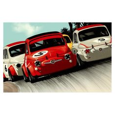 #Abarths By Guy Allen   #Artwork   Page And Cooper