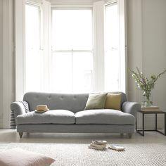 Marmalade sofa in Mist cotton mix