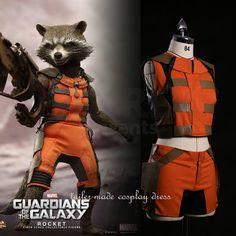 Guardians of the Galaxy Cosplay Rocket Raccoon Adult Costumes