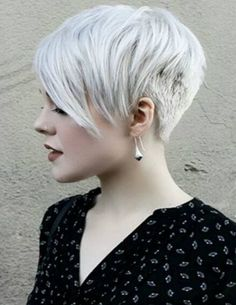 Layered Short Blonde Pixie Cut for Spring