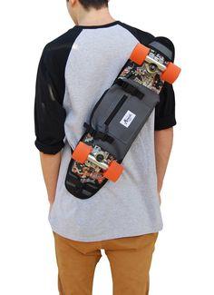 Backpack, shoulder bag and fanny pack for penny board