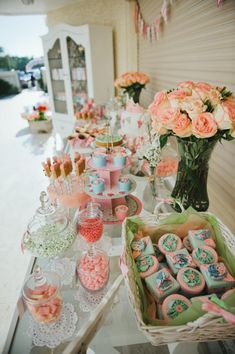 Shabby girly princess party with tons of ideas! Via Kara's Party Ideas KarasPartyIdeas.com