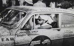 Joginder Singh Bhachu was the first Sikh to win a road rally anywhere in the world. He dominated the African road rally circuit in the 60s and 70s, and was the first driver to win three Safari Rallys. He passed away on October 2, 2013 at the age of 81.