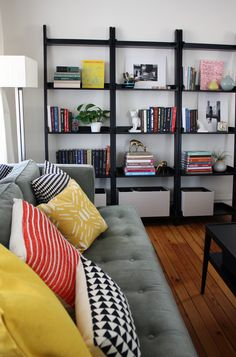 Get the Look: Leaning Ladder Shelves | Apartment Therapy