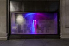 Nike kinetic windows at Selfridges by ...,staat, London visual merchandising