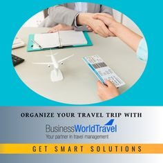 Managing travel programs are challenging and complex, #BusinessWorldTravel can help you organize them with our Smart solutions. we help you cut costs , manage employees, manage policy ,without compromising on your travel experience and satisfaction #TravelManager #BusinessTraveller #BusinessClassFlights #DiscountAirfares #BusinessTravelManagement #BusinessWorldTravel Business Class Tickets, Car Rental Deals, Airline Travel, Management Company, World Traveler, Business Travel, Organize, Organization, Air Travel