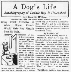 Autobiography of Laddie Boy Unleashed The evening world., March 06, 1922, Final Edition, Page 19