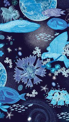 Design Textile, Art Design, Art Et Illustration, Illustrations, Japanese Patterns, Japanese Art, Motion Design, Art Inspo, Pattern Art