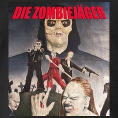 Cool vintage look of Die Zombiejäger - Premium-T-shirt herr