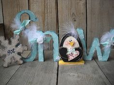 Craft Goodies: january {and february}word...of the month kits