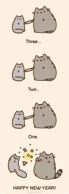 Too cute! Love Pusheen.