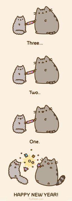 Too cute! Love Pusheen.