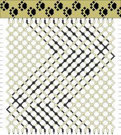 Learn to make your own colorful bracelets of threads or yarn. Bracelet Crafts, Macrame Bracelets, Jewelry Crafts, Paracord Bracelets, Diy Schmuck, Schmuck Design, String Bracelet Patterns, Armband Diy, Motifs Perler