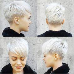 "3,192 Likes, 28 Comments - @shorthair_love on Instagram: ""@sarahb.h ❤ #pixiecut #hair #hairstyle #haircut #shorthairlove #undercut #shorthair"""