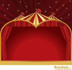 vintage circus pictures free | Backgrounds | VectorJungle - Free Vector Art, Vector Graphics and ...