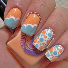 Cute summer nails #nailart