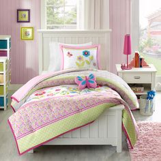paint to match mi zone kids flower power bedding - Google Search