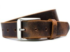 Nickel free Mt. Pisgah Titanium Distressed Leather Belt – Athena Allergy, Inc. The unique look of #distressedleather is combined with a non-allergenic titanium buckle to craft a belt that is the answer for most #metalallergy problems!  Doctors recommend #titanium for anyone who suffers from nickel allergy or other allergy to metals. Doctors also recommend de-stressing which comes naturally with the relaxed comfort of a #rash-freebelt ! Fashion Belts, Mens Fashion, Rugged Men, Casual Belt, Distressed Leather, Vintage Leather, Brown Leather, Leather Belts, Men's Belts