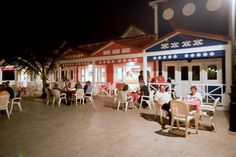 Late night snacks on Caribbean Street at Majestic Colonial #PuntaCana