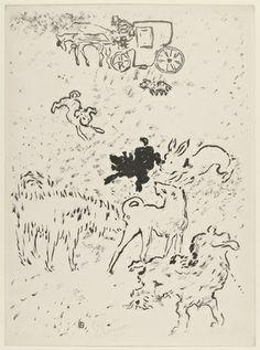 Pierre Bonnard / Dogs (Les chiens) 1994, Lithograph.