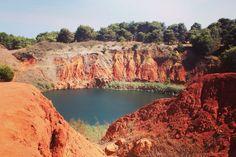 Lago di Bauxite ad Otranto