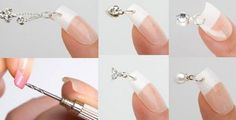 good old days. Nail Piercing, Piercing Ideas, Piercings, Cute Nails, Pretty Nails, Diy Beauty, Beauty Hacks, Nail Time, Nail Jewelry