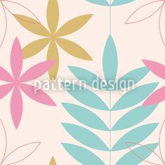 Hochqualitative Vektor-Muster auf patterndesigns.com - Blumen-Grafisch-II, designed by Christina Wasenegger