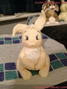Easter Bunnie Cake Topper Tutorial