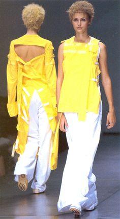 """ Atsuro Tayama Spring/Summer 1999 """