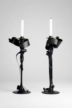 Candle Holders (Limited Edition) by Albert Paley