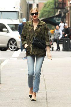Catch Victoria's Secret model Elsa Hosk in her best street style here..