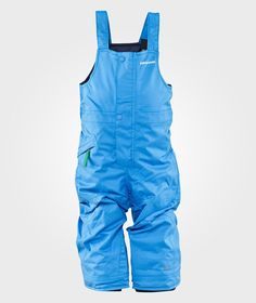 BABY SNOW PILE BIBS Andes blue